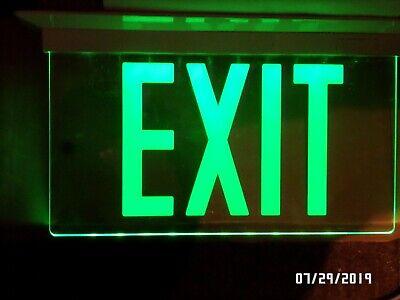 Isolite Elite Led Emergency Exit Sign Elt-ac-g-1c-wh-rc-uc