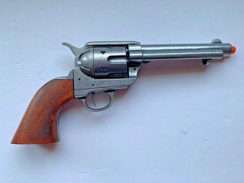 "Denix M1873 Colt Single Action 4.5"" Barrel Revolver Antique with Wood Grips"