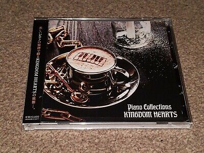KINGDOM HEARTS - Official Game Piano Collections Soundtrack - New and Sealed