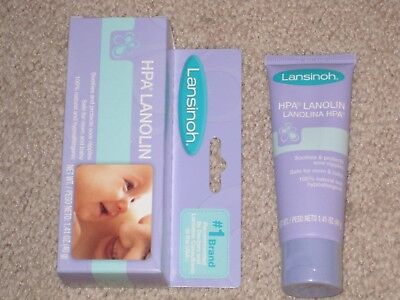 (NIP Lansinoh HPA Lanolin Cream Ointment for Breastfeeding Mothers, 1.41 oz tube)