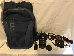 Canon 60D with lens, bag and tripod Eight Mile Plains Brisbane South West Preview