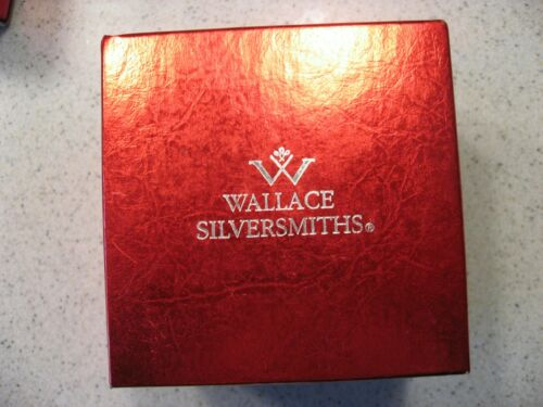 Wallace Silversmiths 2002 Annual Christmas Sleigh Bell - 32nd Edition ASIS