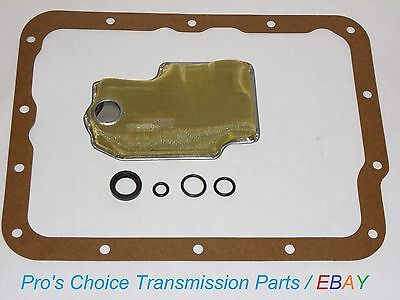 (Oil Filter Service Kit with Shifter Control Lever Seals --Fits FMX Transmissions)