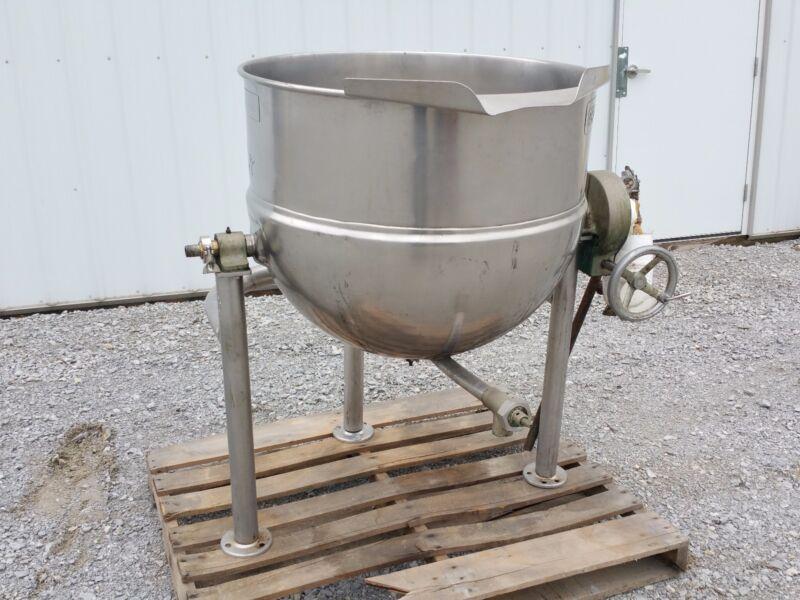 11666 - 60 Gallon Groen Kettle - Stainless Steel - Jacketed Tilt Style