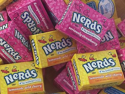 Nerds Mini Boxes Lemonade Wild Cherry Strawberry  MIX 7 Pounds