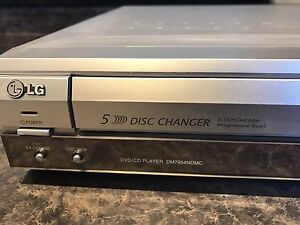 LG 5 disc DVD player