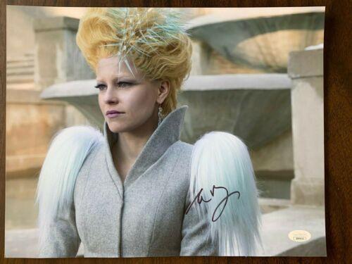 Hunger Elizabeth Banks Autographed Signed 11x14 Photo JSA COA #1