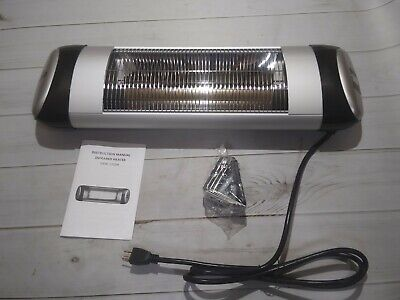 sundate Outdoor HeateR Electric Patio Heater Wall-Mount Radiant Heater NXW-1500R Radiant Outdoor Patio Heater