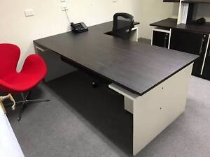 Office Desk, Hutch and Chair
