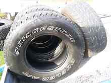 4x4 Tyres and mag wheels for sale Seven Hills Blacktown Area Preview