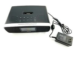 iHome iA90 Dual Alarm Clock Radio Stereo iPhone/iPod Docking Station