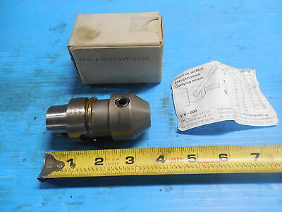 Schaublin Hsk 40 12 Mm I.d. Solid End Mill Tool Holder 87-40576 Cnc Mill Tooling