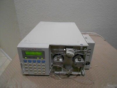 Shimadzu Lc-10ad Vp Hplc Chromatograph Pump Mixer Works Agilent Waters Hp