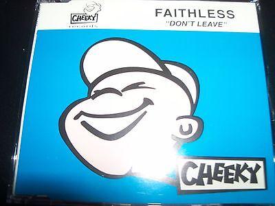 Faithless Don't Leave UK Original Remixes Single – Like New