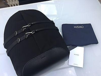 Mismo M/S Sprint Backpack Rucksack Black Ballistic Nylon/Leather BRAND NEW