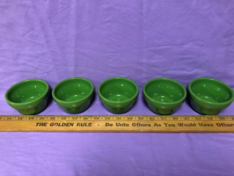 vintage homer laughln china custard cups E