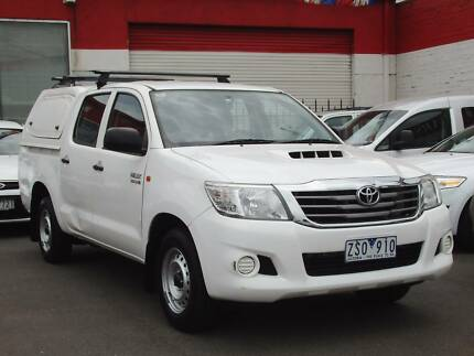 2013 Toyota Hilux SR Ute *** TURBO DIESEL *** $16,990 DRIVE AWAY Footscray Maribyrnong Area Preview