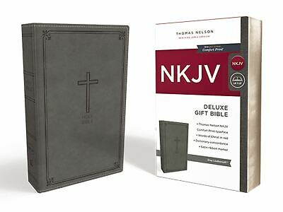 NKJV Deluxe Gift Bible, Red Letter Edition