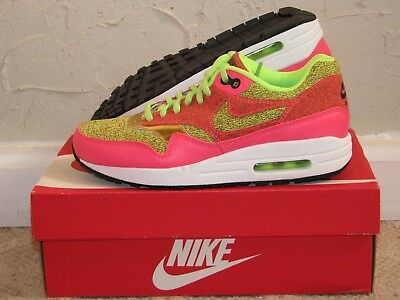 wholesale dealer e92e0 54f8b  114.62 - Nike Air Max 1 SE Ghost Green   Pink Womens Size 6.5 DS NEW! 90  97 95 881101-300