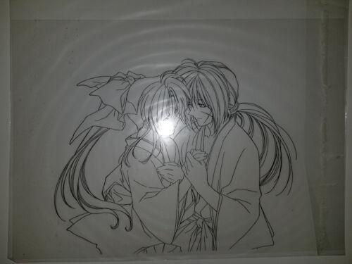 Rurouni Kenshin Samurai X Anime Japanese Hanken Cel Art