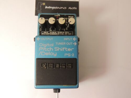 Boss PS-2 Pitch Shifter/Delay Effects Pedal Harmonizer Shift Free USA Shipping