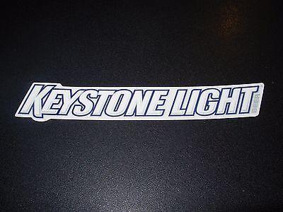KEYSTONE LIGHT Text Logo STICKER decal craft beer brewery brewing