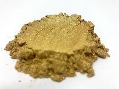 10g GOLD PEARL MICA PIGMENT COSMETIC GRADE COLORANT PEARLESCENT POWDER