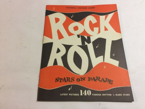 """R&B PICTORIAL"" BLACK BLUES-1955 ORIGINAL VINTAGE R&B MUSIC PHOTOS BOOKLET"