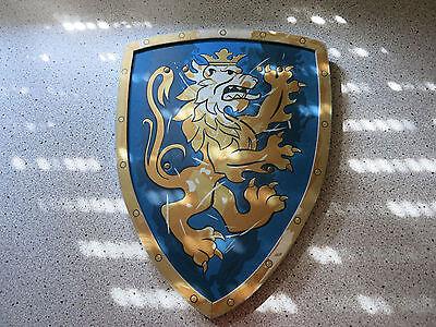 Schild für Ritter, Kostüm, Karneval - Löwe (Ritter Schild Kostüm)