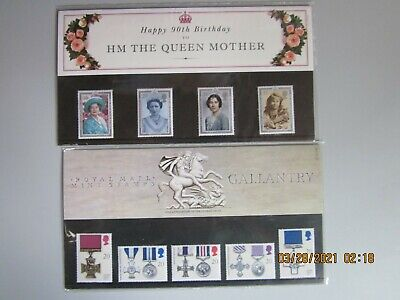 HAPPY 90th BIRTHDAY to HM THE QUEEN MOTHER AND ROYAL GALLANTRY COLLECTIONS