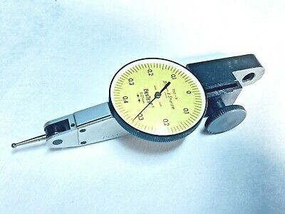 Brown Sharpe 599-7031-13 Metric Dial Test Indicator With Holder