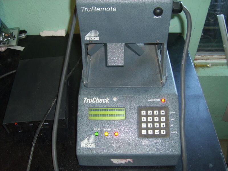 Webscan   Trucheck Tc-418   Truremote  True Check