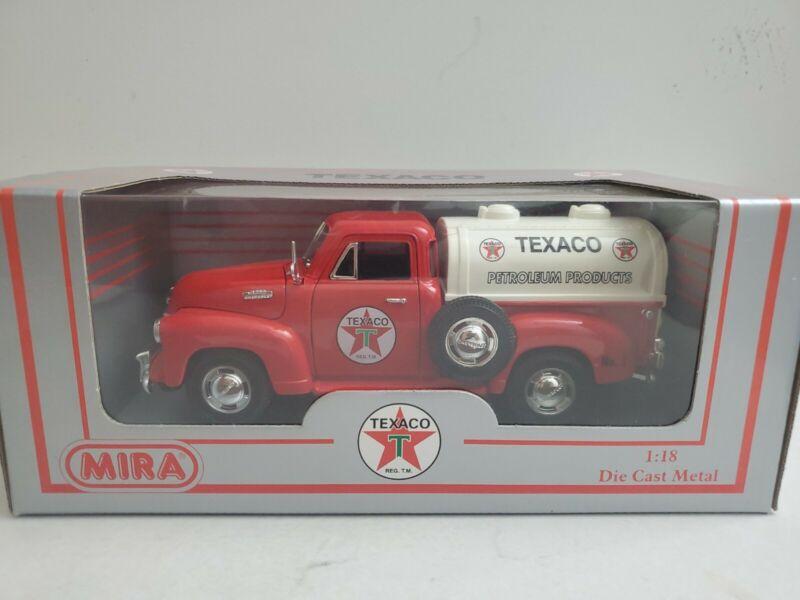 Texaco 1953 Chevrolet Tanker MIRA 1:18