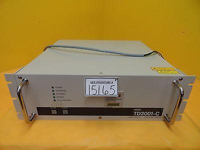 Osaka Td2001-c Turbomolecular Pump Controller Power Supply Turbo Tested Working