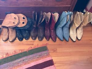 Cowboy boots all size 8 or 8.5 -
