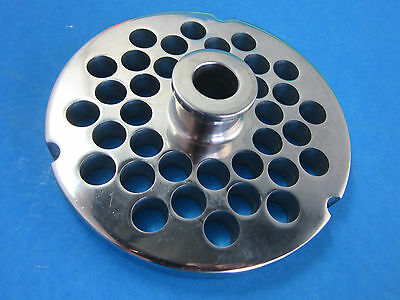 32 X 38 Meat Grinder Plate W Hub Stainless Fits Hobart Cabelas Lem More