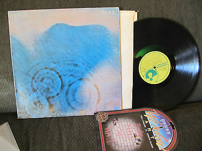 pink floyd meddle harvest orig lp '71 smas832 F16/F19 rare w/wall sticker decal