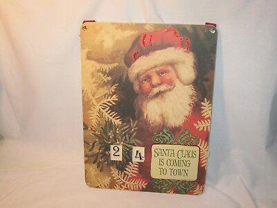 Accessory for Byers Choice Holiday Santa Countdown Calendar