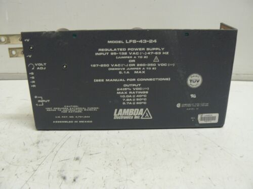 LAMBDA LFS-43-24 REGULATED POWER SUPPLY