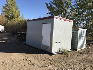 8'x14' insulated skid shack with hotsy