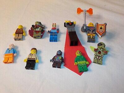 Lego  minifigure lot spongbob the movie nexo knights etc lot aa  bin 39