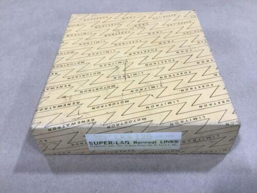 Box Of 25 Bussmann Buss Super-Lag Renewal Links LKS-125 600V #50A28PR2