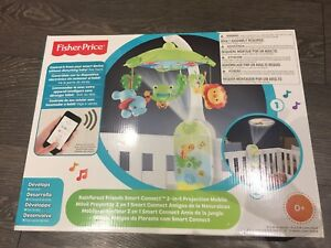 Fisher Price Smart 2 in 1 projection mobile brand new