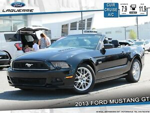 2013 Ford Mustang GT CONVERTIBLE**CUIR*CRUISE*BLUETOOTH*A/C**