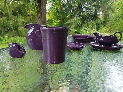 HOMER LAUGHLIN FIESTA UTENSIL CROCK mulberry purple NEW Fiesta Utensil Crock