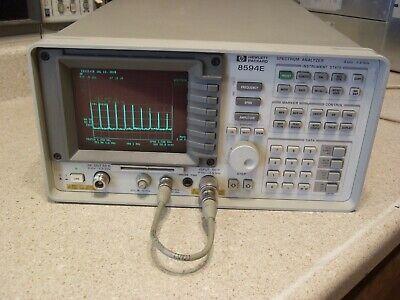 Hp Hewlett Packard Agilent Keysight 8594e 2.9 Ghz Spectrum Analyzer - In Cal