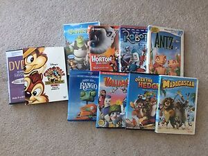 Various Kids Movie Lot