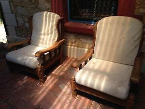 Set of couches: 3-seater & 2 singles Fremantle Fremantle Area Preview