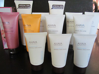 Ahava dead sea mineral cream select your size and type new hand foot body lotion