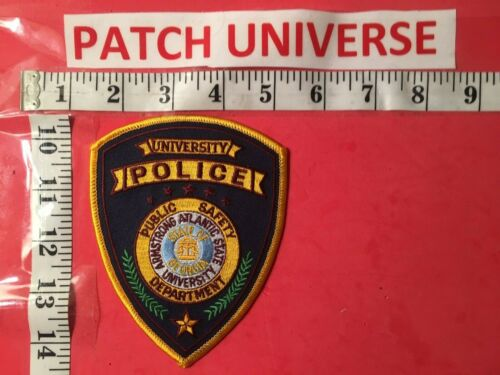 ARMSTRONG  ATLANTIC STATE UNIVERSITY  POLICE  SHOULDER PATCH  A076